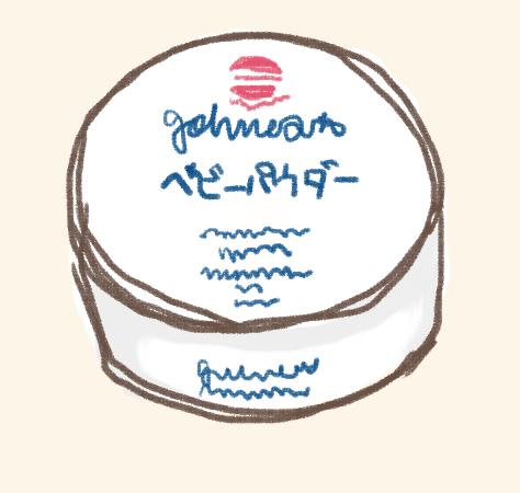 ベビーパウダー(シッカロール)